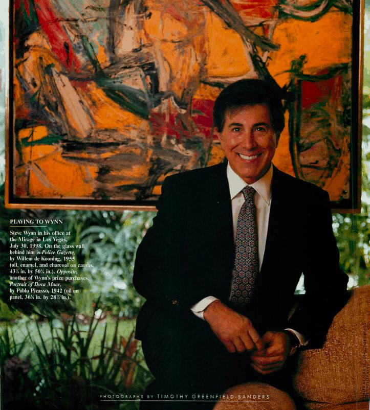 Steve Wynn 1988 Vanity Fair