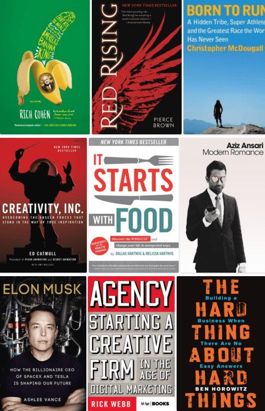 Favorite Books 2015 Covers