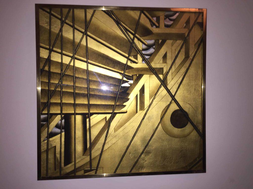 Jean Dupas square panel