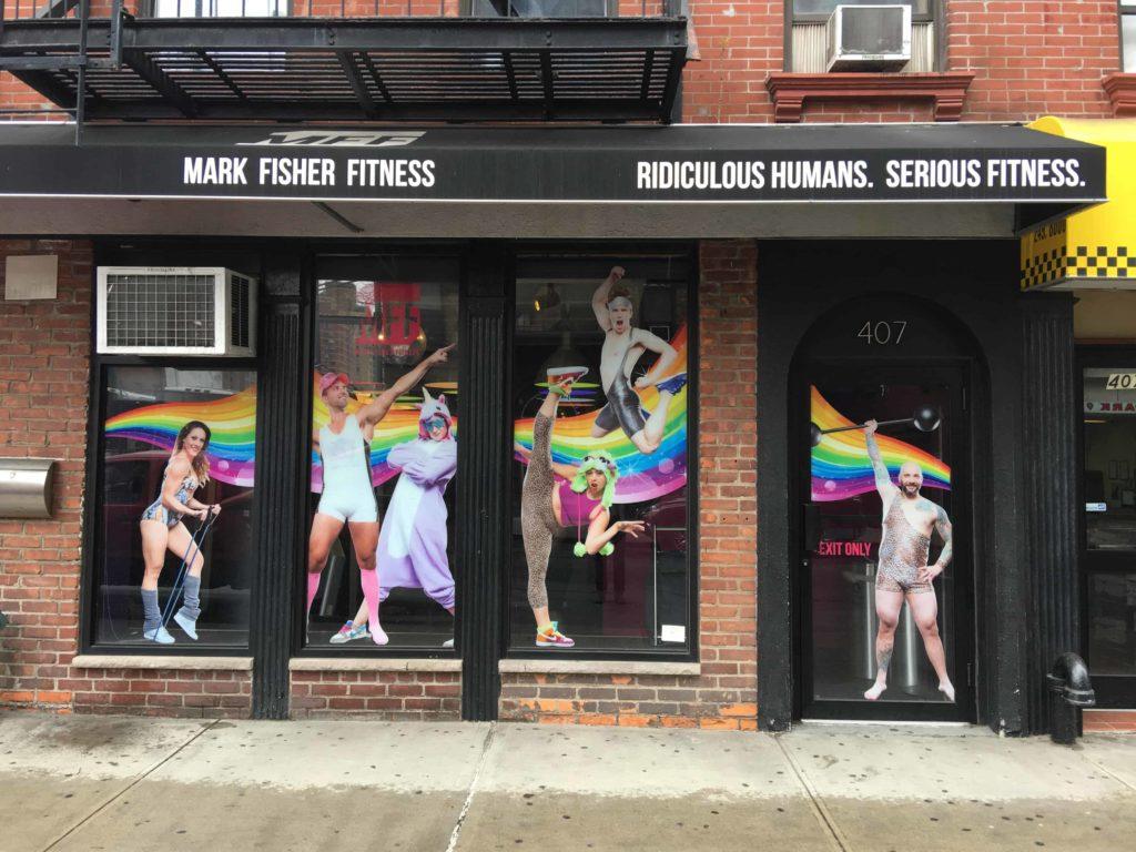 Mark Fisher Fitness location studios