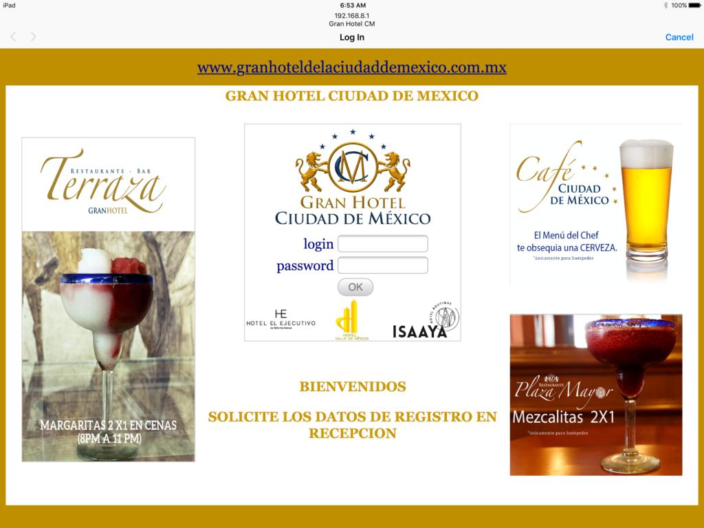 Hotel Login