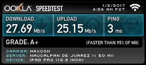 WiFi Speeds
