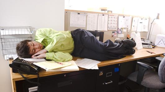 sleepy at the office