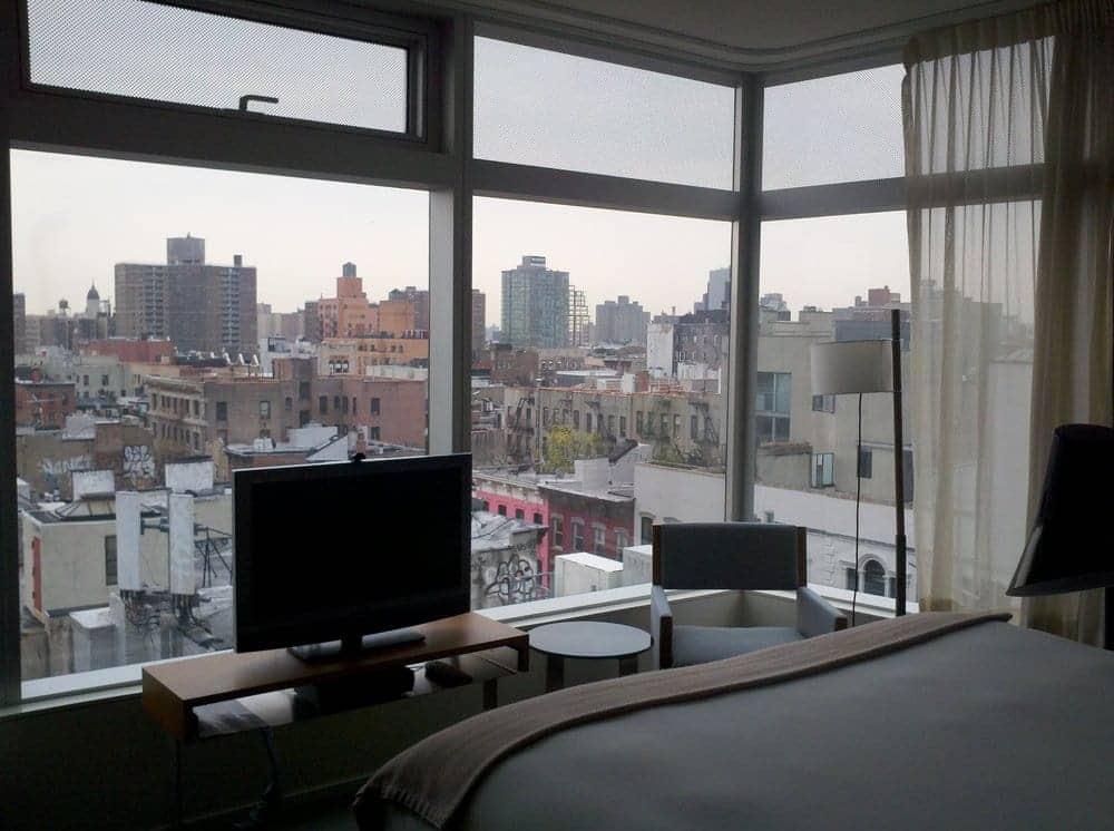 Standard East Village Hotel Room