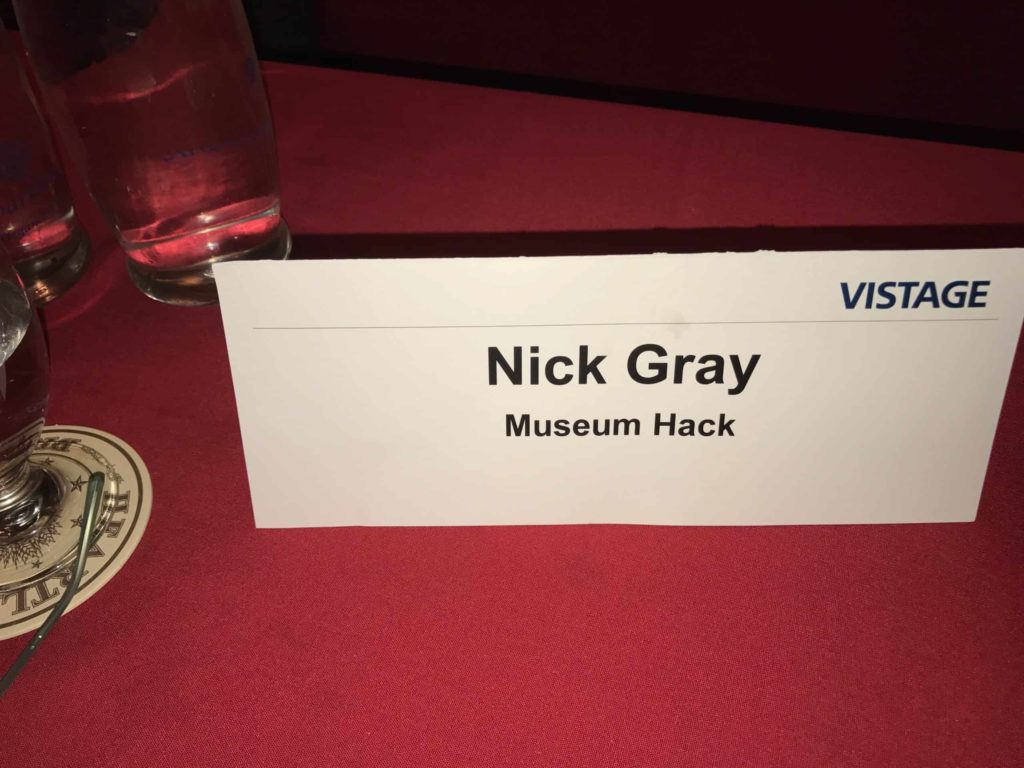 Nick Gray from Museum Hack at the Vistage CEO mastermind