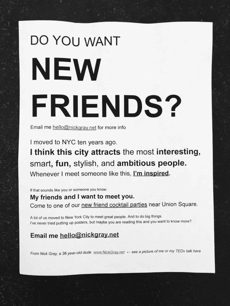 Do you want New Friends?