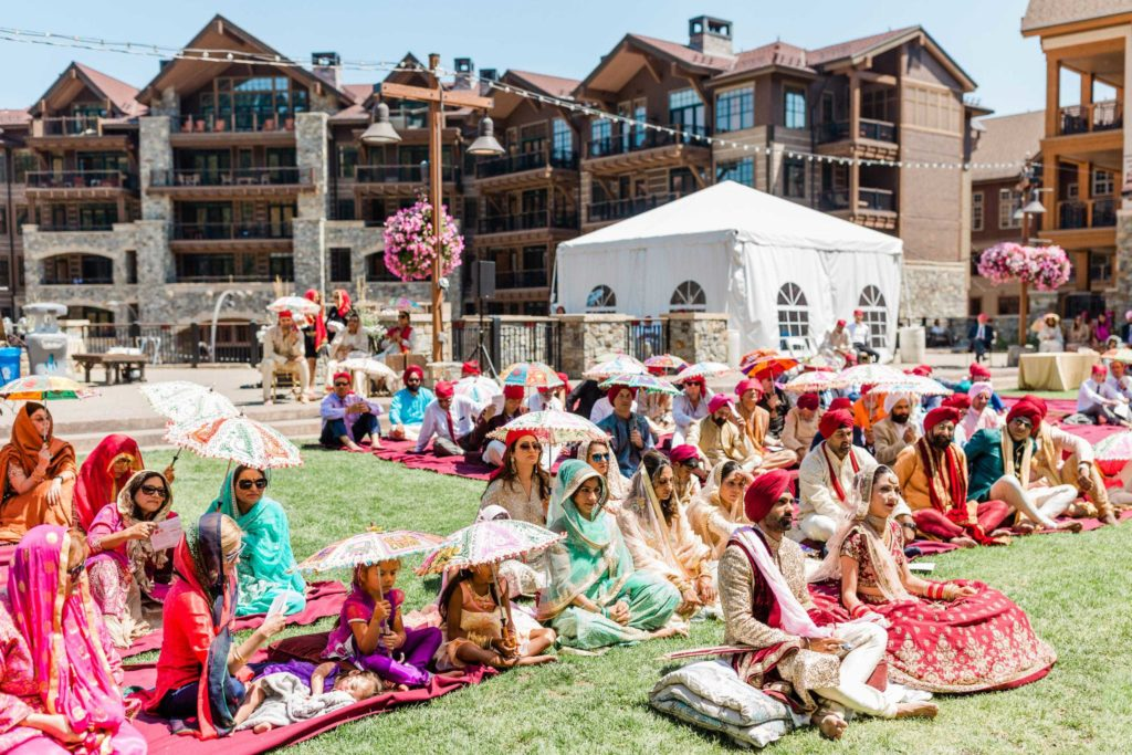 Lake Tahoe and Northstar Village for an Indian wedding