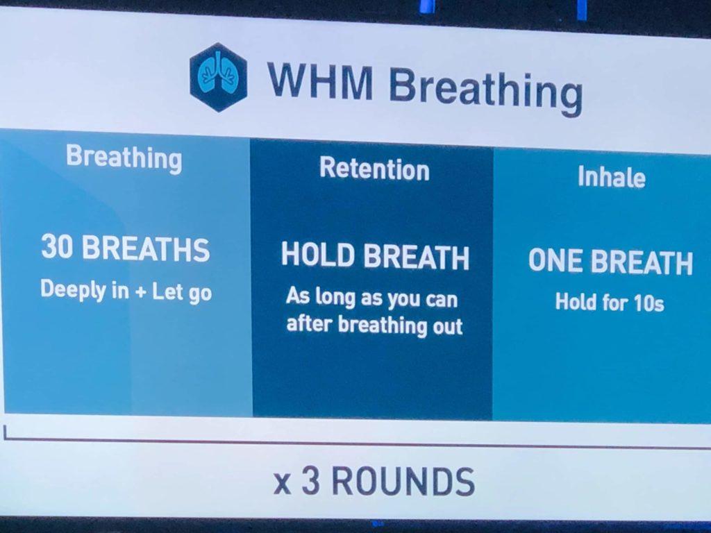 WHM Breathing exercises information