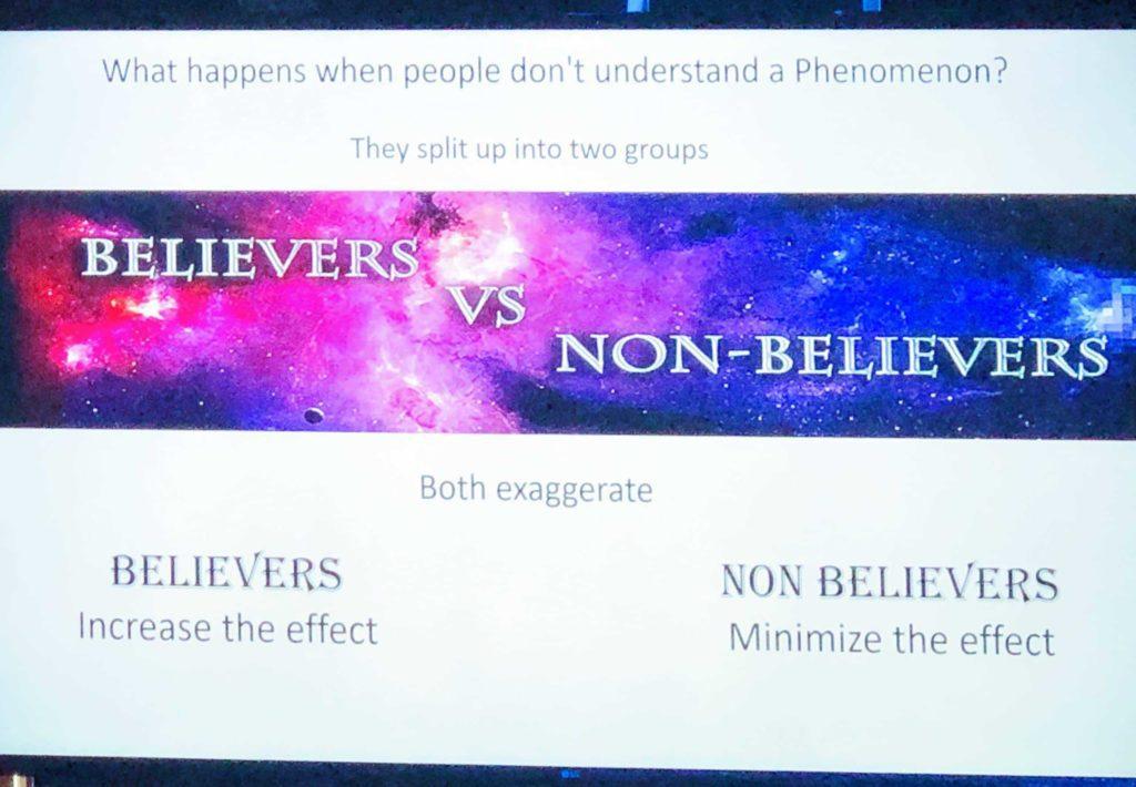 Believers vs Non-Believers