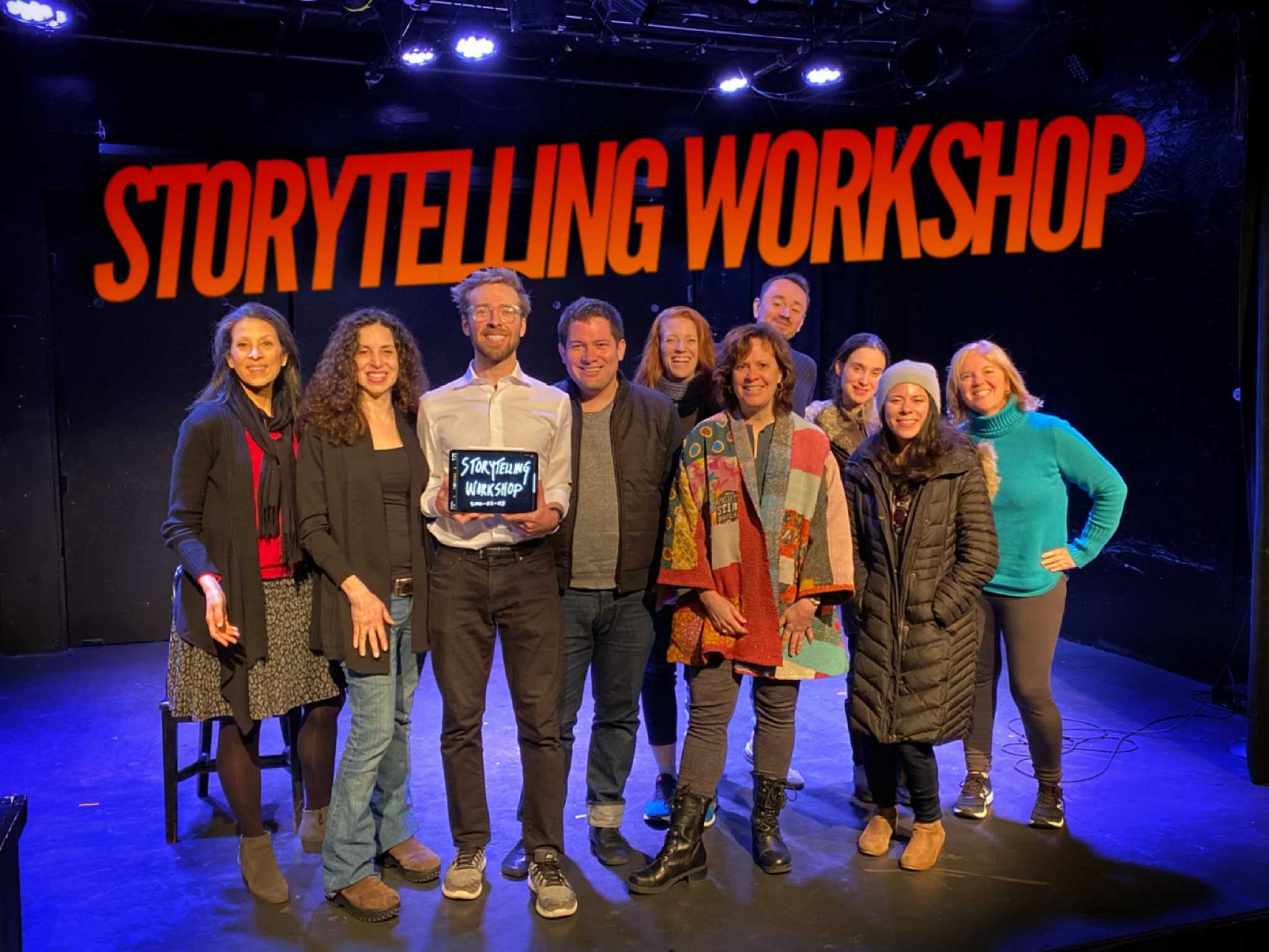Storytelling Workshop for Business Master Class hosted by The Story Studio in NYC
