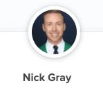 Nick Gray profile photo on Calendly